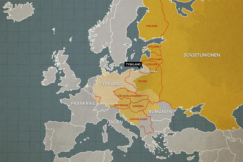 Gammal Karta Italien.Nya Lander Efter Forsta Varldskriget