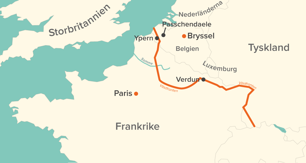 Karta Europa Andra Varldskriget.Europa Forsta Varldskriget Forloppet Stacy Genealogy