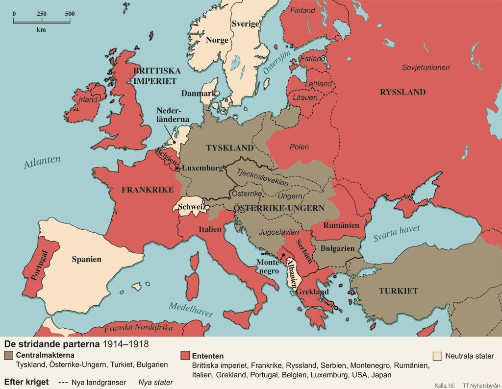 Karta Europa Andra Varldskriget.Krigsslutet Laromedel Till Lektion I Historia Ak 7 8 9